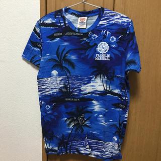 フランクリンアンドマーシャル(FRANKLIN&MARSHALL)のFRANKLIN MARSHALL Tシャツ ボタニカル XSサイズ(Tシャツ/カットソー(半袖/袖なし))