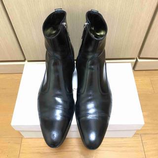 DIOR HOMME - 正規 Dior Homme ディオールオム サイドジップ   ブーツ