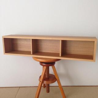 ムジルシリョウヒン(MUJI (無印良品))の無印良品 壁に付けられる家具 箱 幅88cm (棚/ラック/タンス)