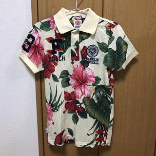 フランクリンアンドマーシャル(FRANKLIN&MARSHALL)のFRANKLIN MARSHALL ポロシャツ ボタニカル XSサイズ(ポロシャツ)