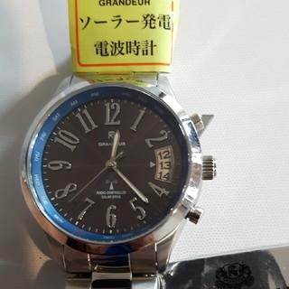 グランドール(GRANDEUR)の❪展示品❫ソーラー電波時計(腕時計(アナログ))
