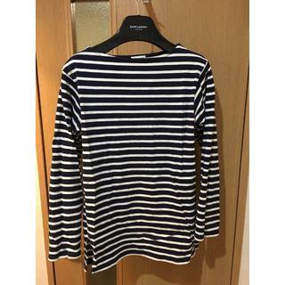 サンローラン(Saint Laurent)のサンローラン 15ss サイコロックコレクション 名品ボートネックtee(Tシャツ/カットソー(七分/長袖))