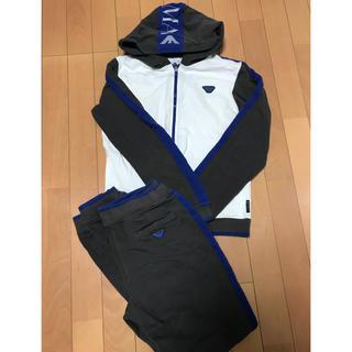 アルマーニ ジュニア(ARMANI JUNIOR)のアルマーニジュニア パーカー パンツ アルマーニ  160cm着用の方に(Tシャツ/カットソー)