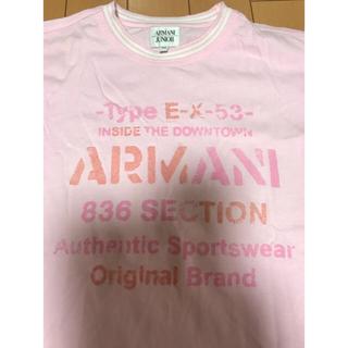 アルマーニ ジュニア(ARMANI JUNIOR)のアルマーニジュニア Tシャツ 10A 140cmの方に(Tシャツ/カットソー)