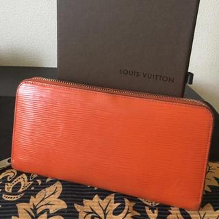 ルイヴィトン(LOUIS VUITTON)の週末お値下げ❤︎ 正規品 ルイヴィトン エピ オレンジ 長財布(財布)