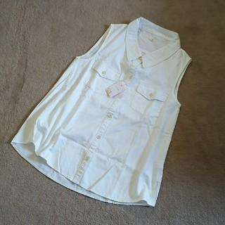アロー(ARROW)のARROW ノースリーブシャツ(シャツ/ブラウス(半袖/袖なし))