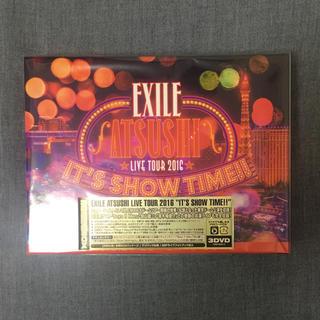 エグザイル(EXILE)のEXILE ATSUSHI IT'S SHOW TIME DVD(ミュージック)