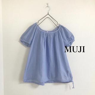 ムジルシリョウヒン(MUJI (無印良品))の無印良品 ブラウス(シャツ/ブラウス(半袖/袖なし))