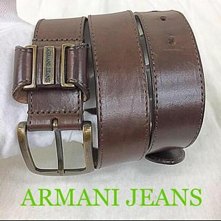 アルマーニジーンズ(ARMANI JEANS)の鑑定済み正規品 アルマーニジーンズベルト(ベルト)