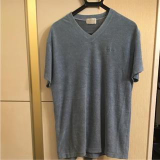 アディダス(adidas)の90S ◆ デサント アディダス Tシャツ Lサイズ ヴィンテージ  パイル生地(Tシャツ/カットソー(半袖/袖なし))