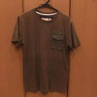 アルファインダストリーズ(ALPHA INDUSTRIES)のアルファ ポケT 送料込み(Tシャツ/カットソー(半袖/袖なし))