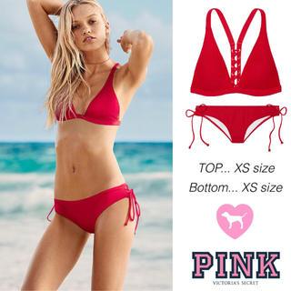7604e6a6bc3 ヴィクトリアズシークレット(Victoria's Secret)の2018 New✨完売 レッド ☆ VS PINK