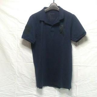 ジャンルーカジョルダーノ(Gianluca Giordano)のライオンビッグ刺繍ロゴ ポロシャツ(ポロシャツ)