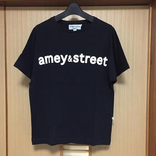 アメリカーナ(AMERICANA)の新品 アメリカーナ ロゴ Tシャツ カットソー ブラック Americana(Tシャツ(半袖/袖なし))