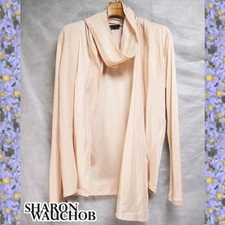 シャロンワコブ(Sharon Wauchob)の新品未使用 シャロンワコブ リボン付ジップアップシルク製ブラウス(シャツ/ブラウス(長袖/七分))