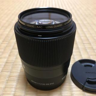 シグマ(SIGMA)のSIGMA 30mm F1.4 dc dn ソニーEマウント用 単焦点(レンズ(単焦点))