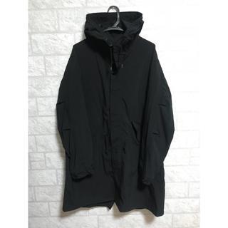 ジーユー(GU)のGU 超大型店限定 モッズコート ブラック L(モッズコート)