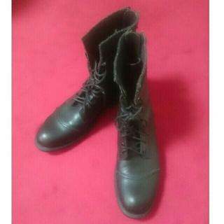 ゴーサンゴーイチプールオム(5351 POUR LES HOMMES)の5351 プールオム ブラック ブーツ(ブーツ)
