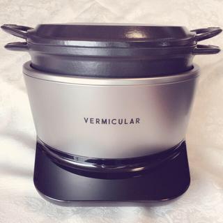 バーミキュラ(Vermicular)の美品 バーミキュラ ライスポット 5合炊き(炊飯器)