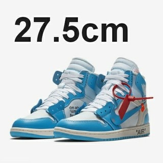ナイキ(NIKE)のTHE TEN AIR JORDAN1 × OFF-WHITE NRG(スニーカー)