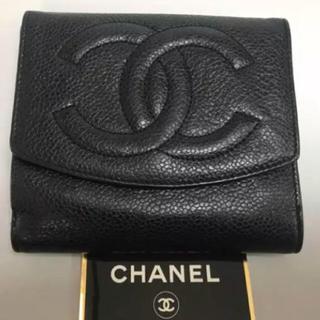 シャネル(CHANEL)の美品‼️CHANEL二つ折り財布❤️(財布)