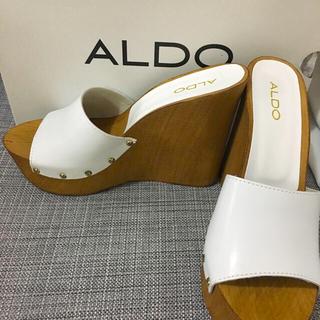 アルド(ALDO)の新品・未使用 ☆ALDO ☆ミュールサンダル(ミュール)