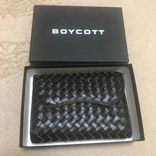 BOYCOTT - BOYCOTT 折りたたみ財布