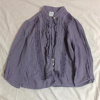 アメリカンラグシー(AMERICAN RAG CIE)のラグシー購入 Dritte 紫鼠色のブラウス(シャツ/ブラウス(長袖/七分))