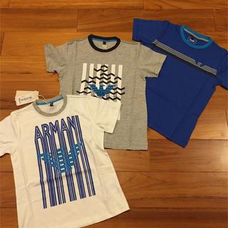 アルマーニ ジュニア(ARMANI JUNIOR)のアルマーニジュニア Tシャツ 7a 8a 120 130(Tシャツ/カットソー)