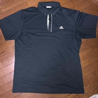 アディダス(adidas)の美品adidasゴルフポロシャツ 大きいサイズ(ウエア)
