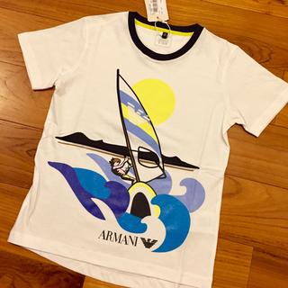 アルマーニ ジュニア(ARMANI JUNIOR)のアルマーニジュニア Tシャツ 新作 8a 130 140(Tシャツ/カットソー)