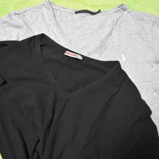 プラダ(PRADA)のプラダとラルフローレンのVネック(Tシャツ/カットソー(半袖/袖なし))
