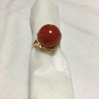 サンゴ(sango)の赤珊瑚 指輪(リング(指輪))