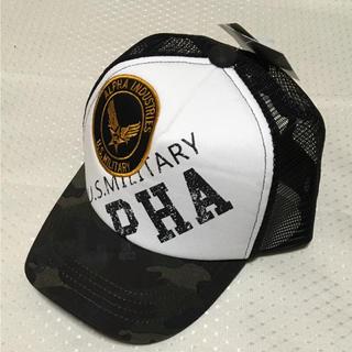 アルファインダストリーズ(ALPHA INDUSTRIES)の新品!アルファ インダストリーズ キッズ 帽子(帽子)