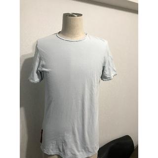 プラダ(PRADA)の●PRADAプラダスポーツTシャツ赤タグ●良好美品(Tシャツ/カットソー(半袖/袖なし))