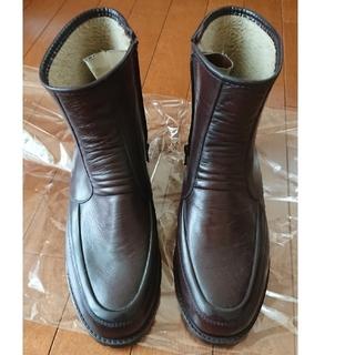 アキレス コザッキー ブラウン 25.5cm 長靴 防寒 防水 裏ボア  (長靴/レインシューズ)
