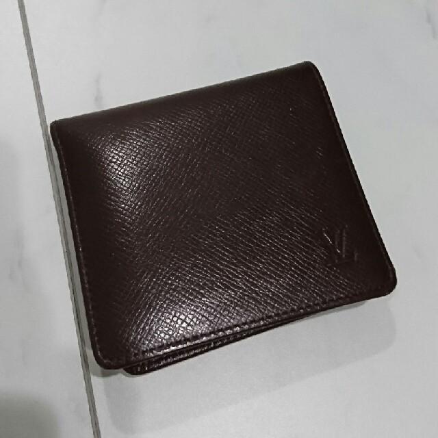 on sale 0d52e 53b88 ルイヴィトン タイガ 二つ折り財布 極美品 | フリマアプリ ラクマ
