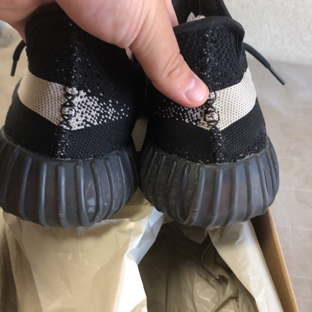 adidas(アディダス)のyeezy boost 350v2 oreo Hiroki様専用 メンズの靴/シューズ(スニーカー)の商品写真