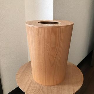 ムジルシリョウヒン(MUJI (無印良品))の木製ゴミ箱 フタ付き(ごみ箱)