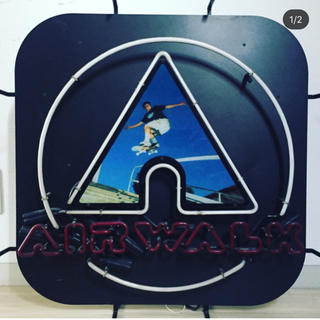 air walk エアーウォーク ネオン 看板 ビンテージ usa製 90年代