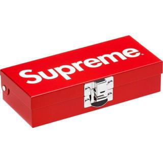 シュプリーム(Supreme)のsupreme small metal storage box(小物入れ)