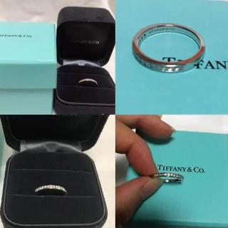 ティファニー(Tiffany & Co.)の最終値下げ!TIFFANY*ハーフ*ダイヤモンド*ウェディングバンドリング(リング(指輪))