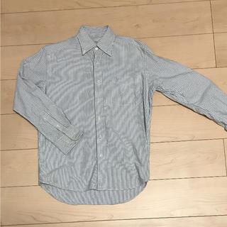 シマムラ(しまむら)のメンズ ストライプシャツ Sサイズ(シャツ)