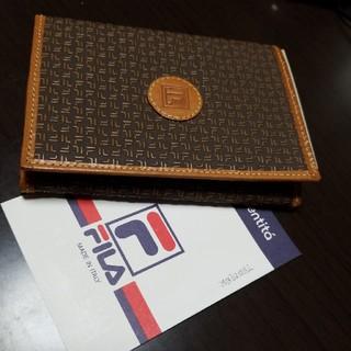 フィラ(FILA)のお値下げFILAフィラのがま口折りザイフです(財布)