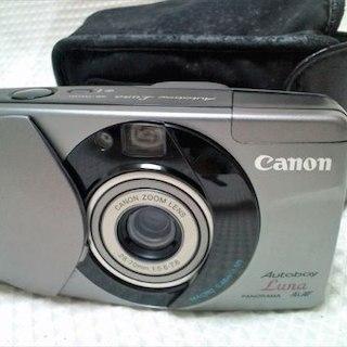 キヤノン(Canon)のキャノン オートボーイ ルナ パノラマ リモコン・ケース付!(フィルムカメラ)