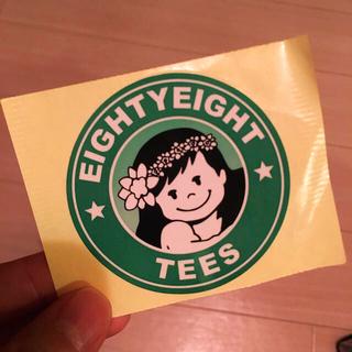 エイティーエイティーズ(88TEES)の88tees yayaちゃん シール ステッカー (シール)