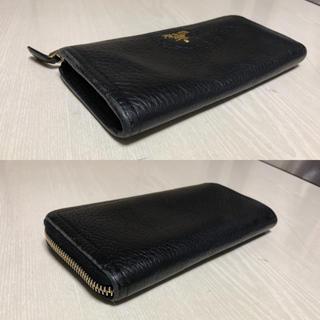 プラダ(PRADA)のPRADA L字ファスナー レザー 長財布(財布)