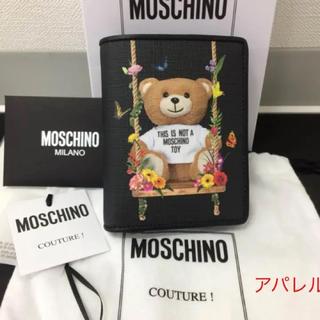 モスキーノ(MOSCHINO)の新品正規品 2018SS MOSCHINO モスキーノ テディベア 二つ折り財布(財布)