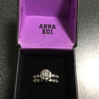 アナスイ(ANNA SUI)のANNA SUI♡2連リング(リング(指輪))