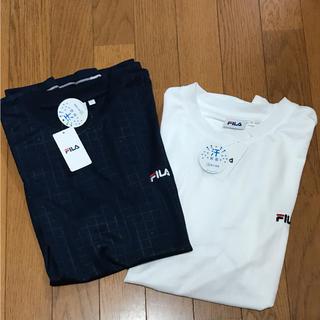 フィラ(FILA)のタグ付き❗️FILA メンズ半袖T 2枚(Tシャツ/カットソー(半袖/袖なし))